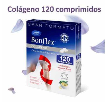 Bonflex colágeno 120 comprimidos Pack ahorro 2 uds