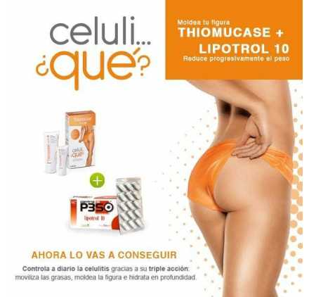 Thiomucase Accion 3 Kit Duplo + Lipotrol