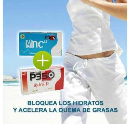 Ync 25 Bloqueador De Calorias + Lipotrol 10 Nutricion Center