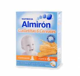 Almiron Galletitas 6 Cereales 600 Gr