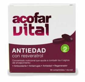 Acofarvital Comprimidos Antiedad Con Resveratrol