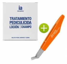 Champu Y Locion Capilar Pediculicida Interapothek + Atrapa-Liendres Atrapin
