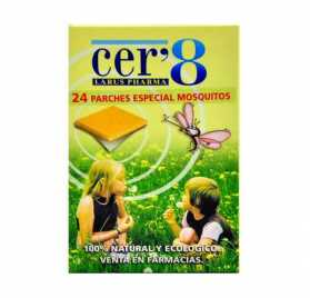 Cer 8 24 Parches Antimosquitos