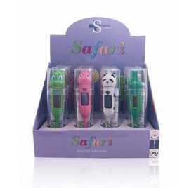 Termometros Safari Infantil Sanitec Expositor 12 Und.