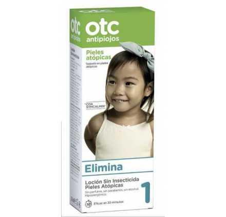 Otc 1 Locion Antipiojos Sin Insecticida Para Pieles Atopicas