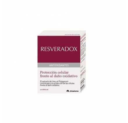 Resveradox Con Resveratrol 30 Capsulas Arkopharma
