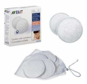 Philips Avent 6 Discos Absobentes Lavables