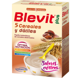 Blevit Plus 5 Cereales Y Datiles 300 gr
