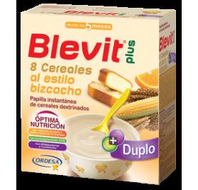 Blevit Plus Duplo 8 Cereales y Bizcocho 2 uds de 300 gr