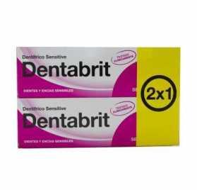Dentabrit Sensitive  Encias 75 ml 2x1