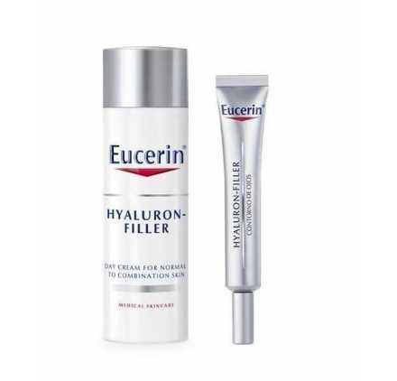 Eucerin Hyaluron-Filler Pieles normales y mixtas + Contorno de ojos