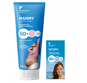 Protextrem Mammy Fotoprotector Spf50 Especial Embarazo + Protextrem Natural Fluido Invisible Spf50