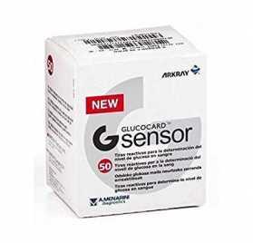 Glucocard G Sensor 1X50 Tiras