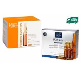 Pack Rejuvenecedor Martiderm 30 Ampollas Proteoglicanos + 10 ampollas Night Renew