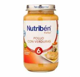 Nestle Potito grande Puré de verduras y pollo 250 gr
