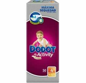 Pañal DODOT Protection Plus Activity Talla 4