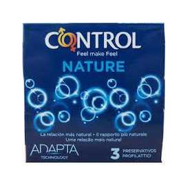 Preservativo Control Adapta Nature 3Uds