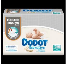 Toallitas Dodot Sensitive 108 Uds